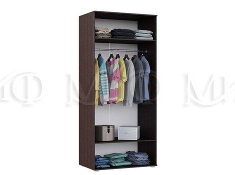 Шкаф для одежды Ким 2-х дверный - внутреннее наполнение