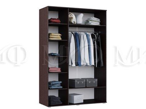 Шкаф для одежды Ким 3-х дверный - внутреннее наполнение