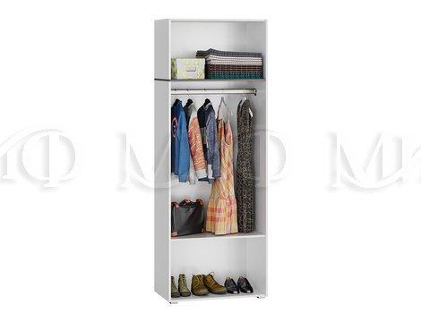 Шкаф платяной Мадера 2х дверный - внутреннее наполнение