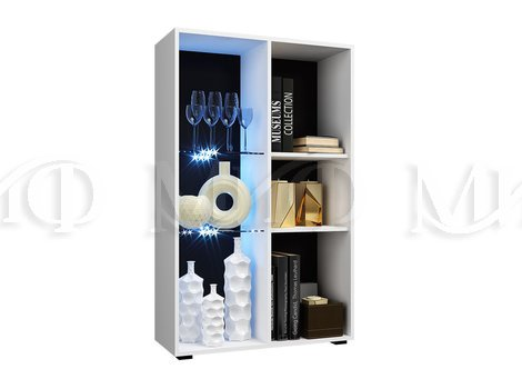 Шкаф-стекло исп 2 Нэнси NEW - внутреннее наполнение