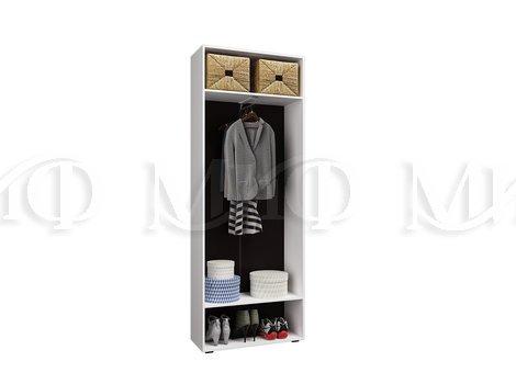 Шкаф 2-дверный Нэнси NEW - внутреннее наполнение
