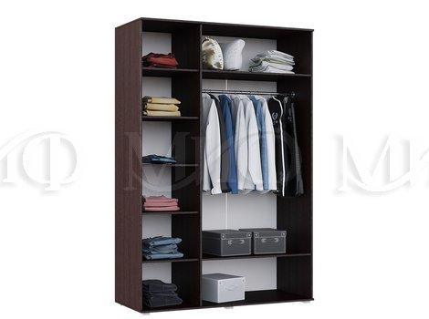 Шкаф для одежды 3-х дверный  Нэнси -  внутреннее наполнение