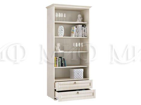 Шкаф со стеклом Престиж 1 -  внутреннее наполнение