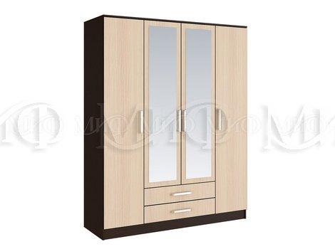 Шкаф для одежды 4 х. - дверный Фиеста