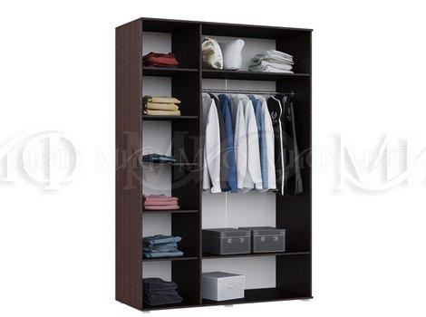 Шкаф для одежды Нэнси 3-х дверный -  внутреннее наполнение